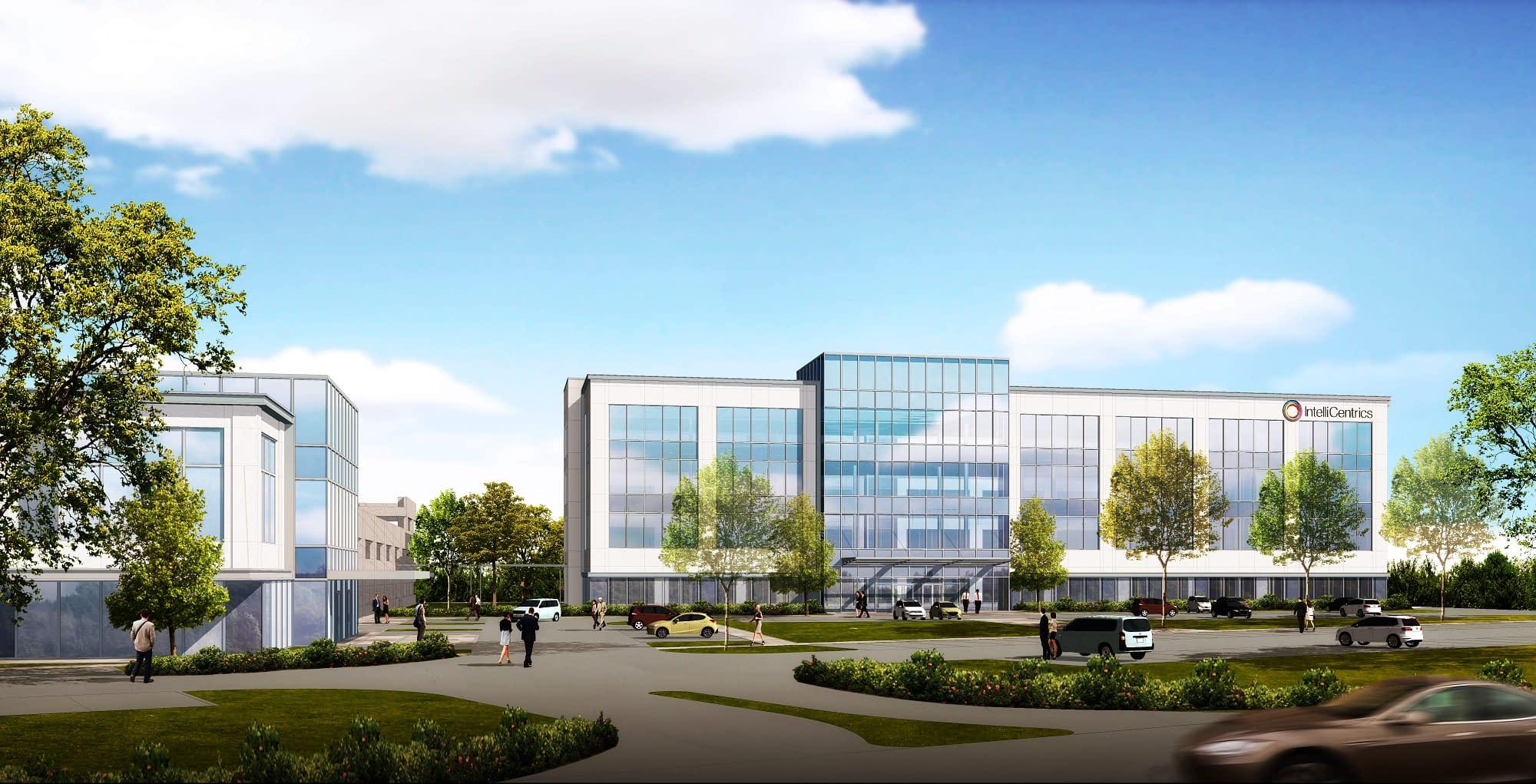 IntelliCentrics new world-wide headquarters