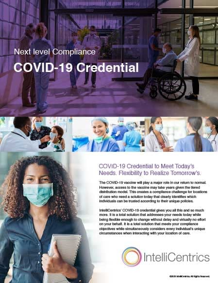 COVID-19 Credential